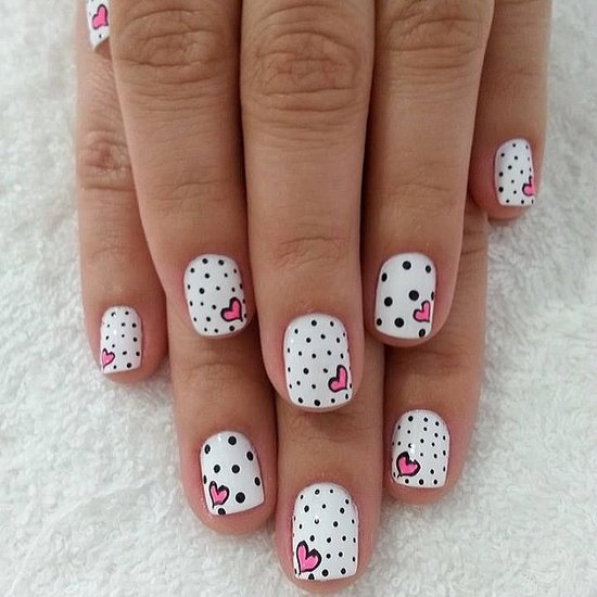 Pretty Valentine's Day Nail Art Inspiration From Instagram