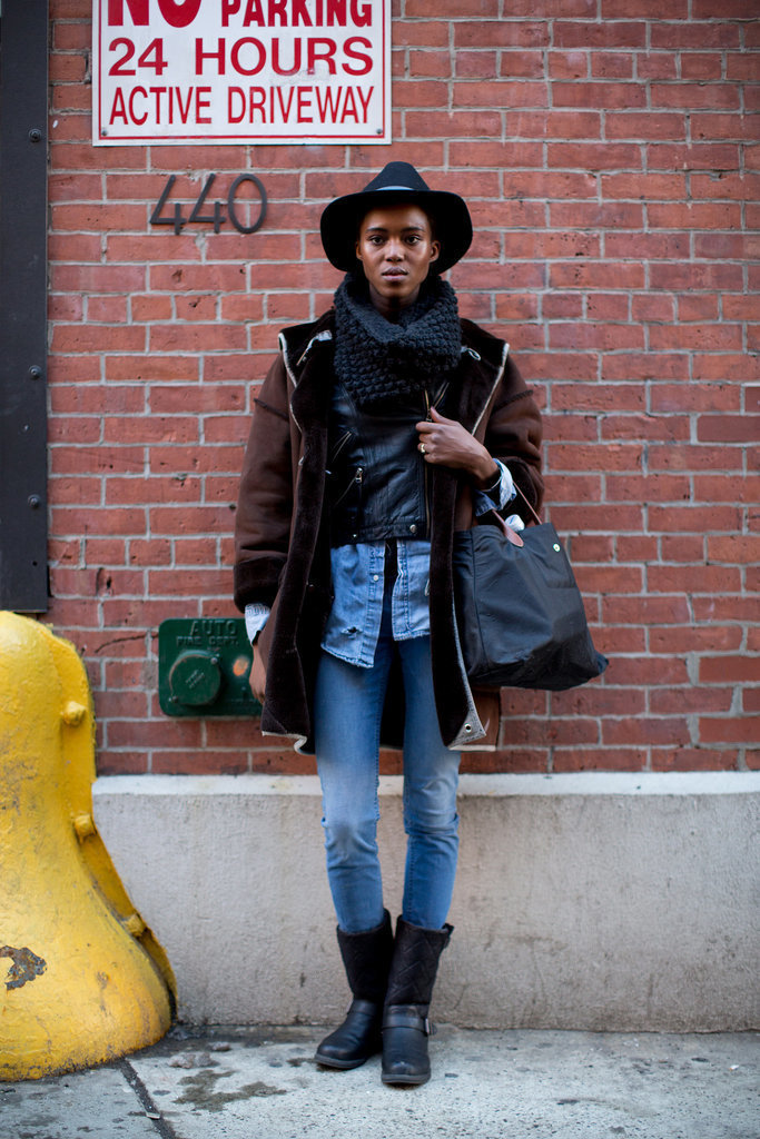 A total tomboy moment we're totally into.