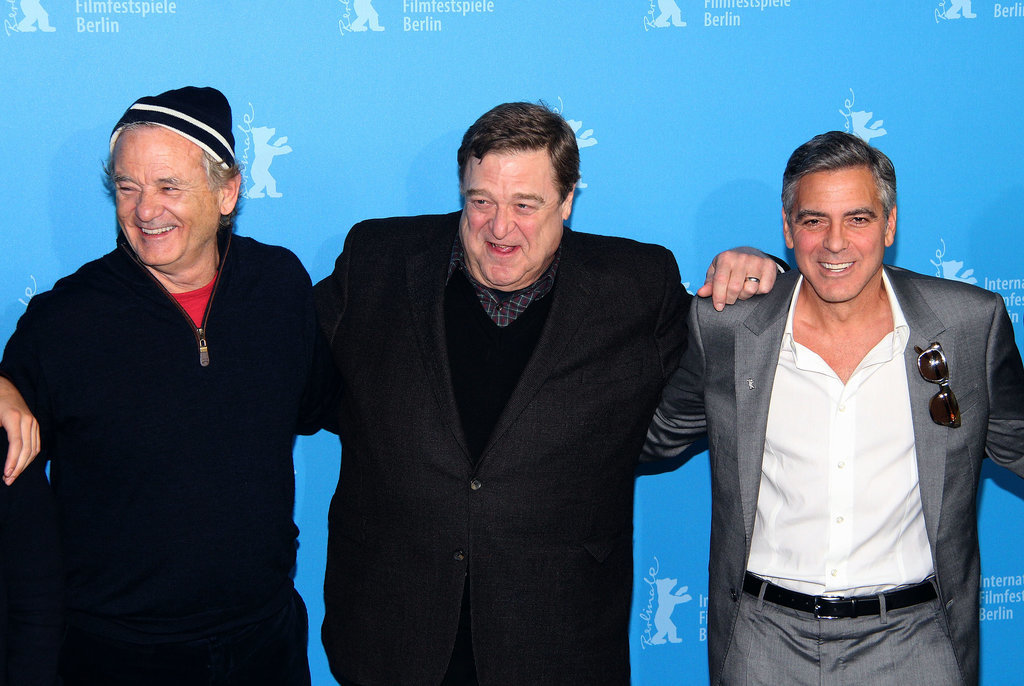 Bill Murray got in on the fun with John and George.