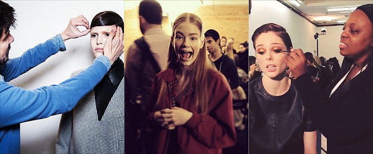 Updated: All the Backstage Action at New York Fashion Week!