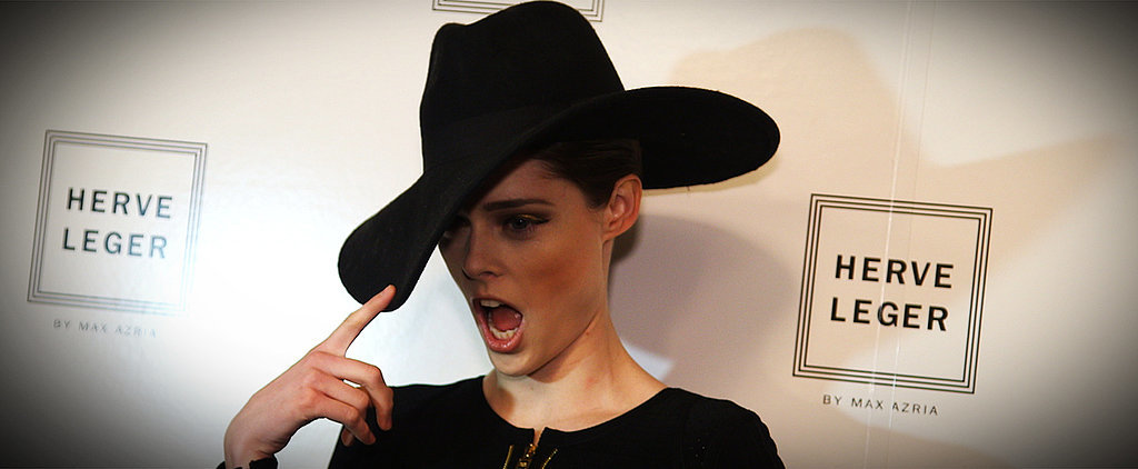 Coco Rocha Thinks About . . . Food? On the Runway