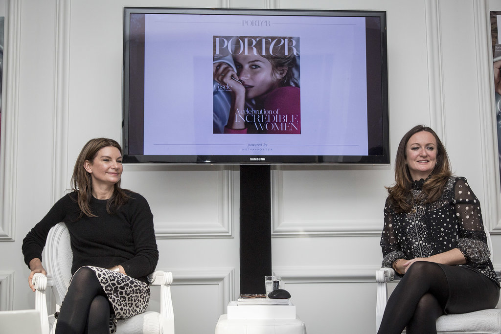 Natalie Massenet and Lucy Yeomans