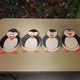 March of the Penguin Plates