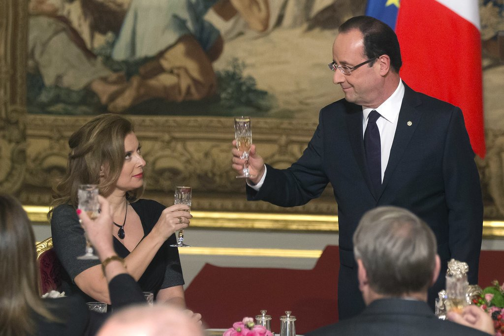 They don't know who to seat next to President Hollande.
