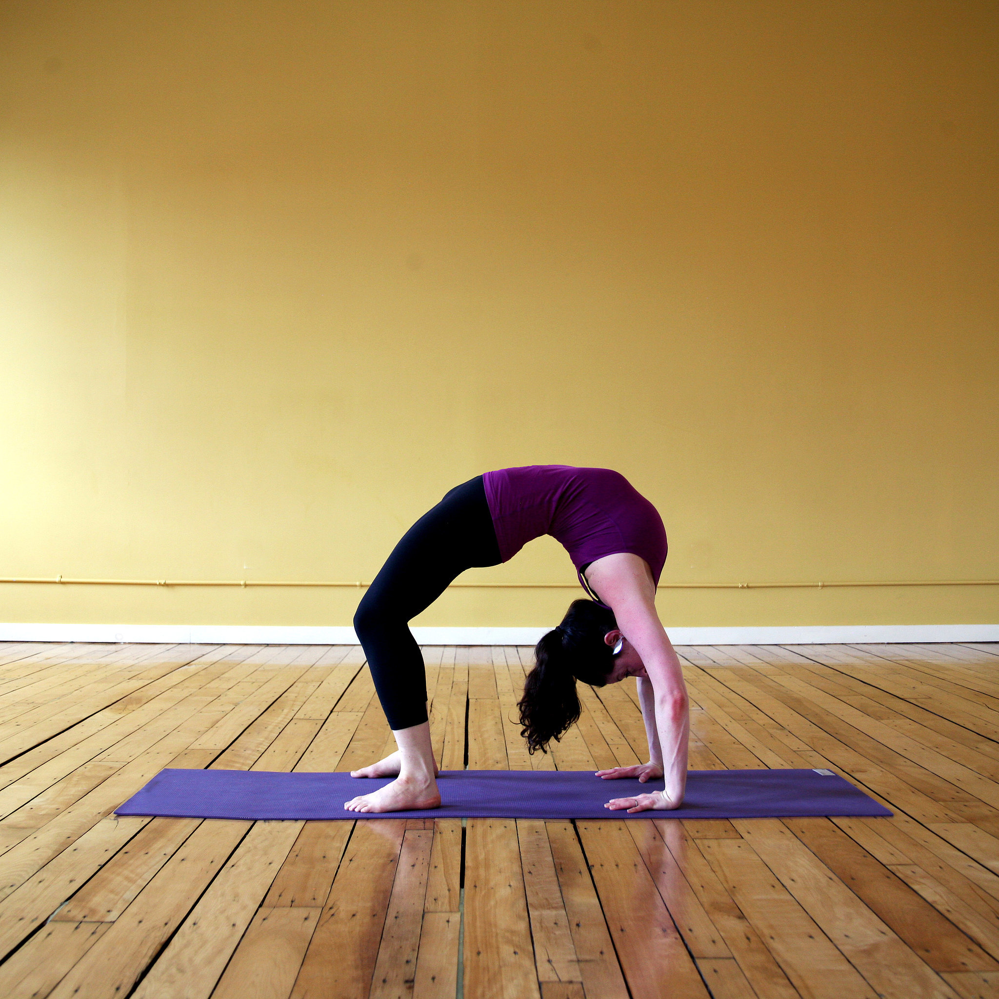 The Yoga Pose Wheel Aka Backbend Explained Popsugar Fitness