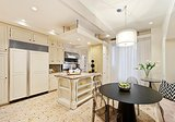 An eat-in nook in the kitchen is an extra bonus. Source: Douglas Elliman Real Estate