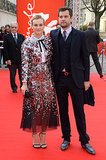 Diane sparkled next to Josh on the red carpet at the Berlin Film Festival in Feb. 2014.
