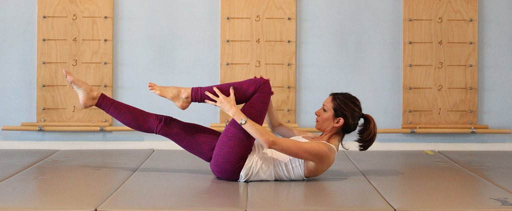 A Serious Ab Workout in Just 2 Minutes: The Pilates Series of 5