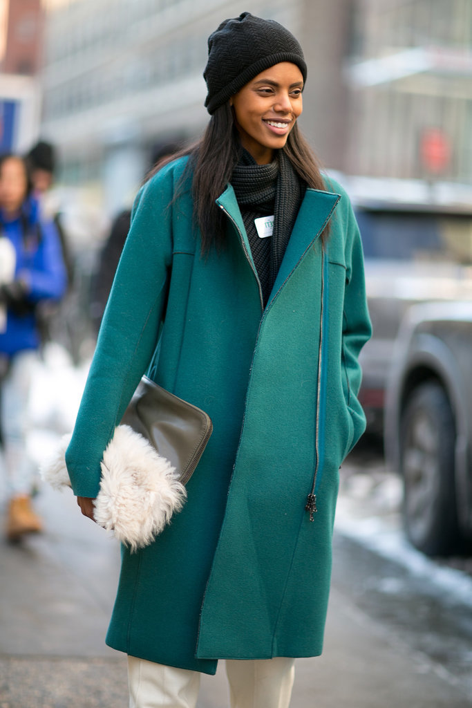 What accessory is better for Winter than a clutch that's as cozy as your outerwear.