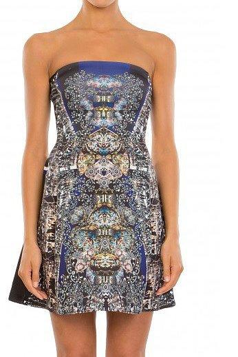 The Strapless Dress