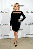Reese Witherspoon wore a black number.