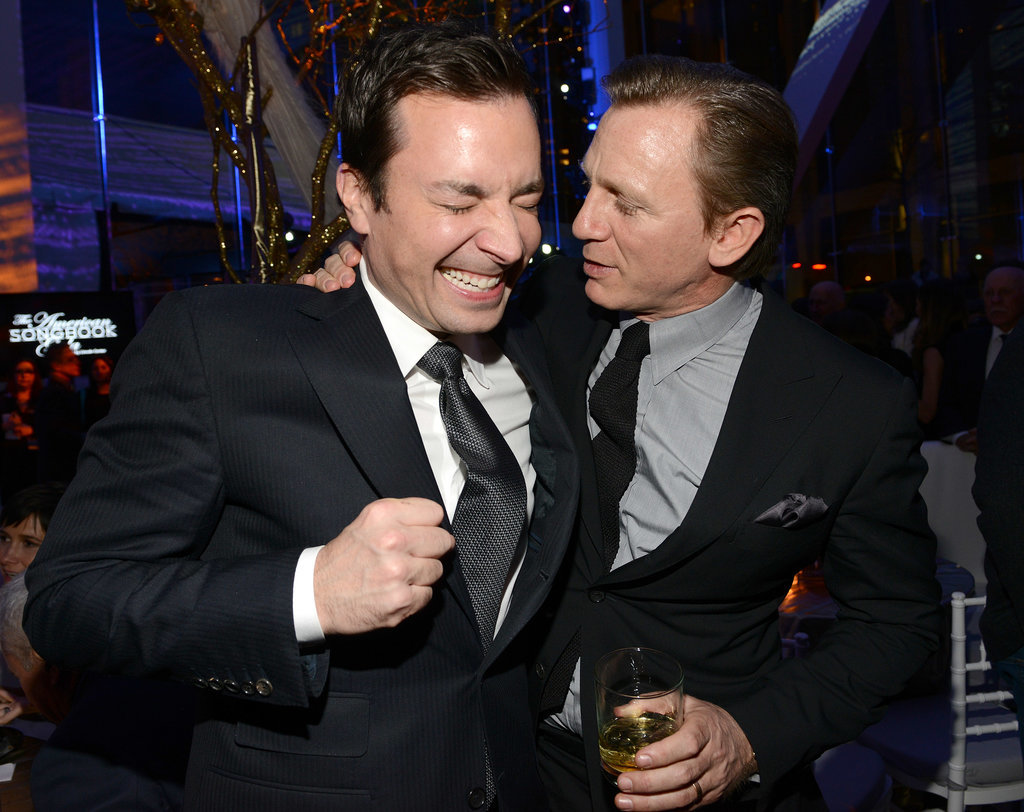 Daniel Craig joked around with Jimmy Fallon.