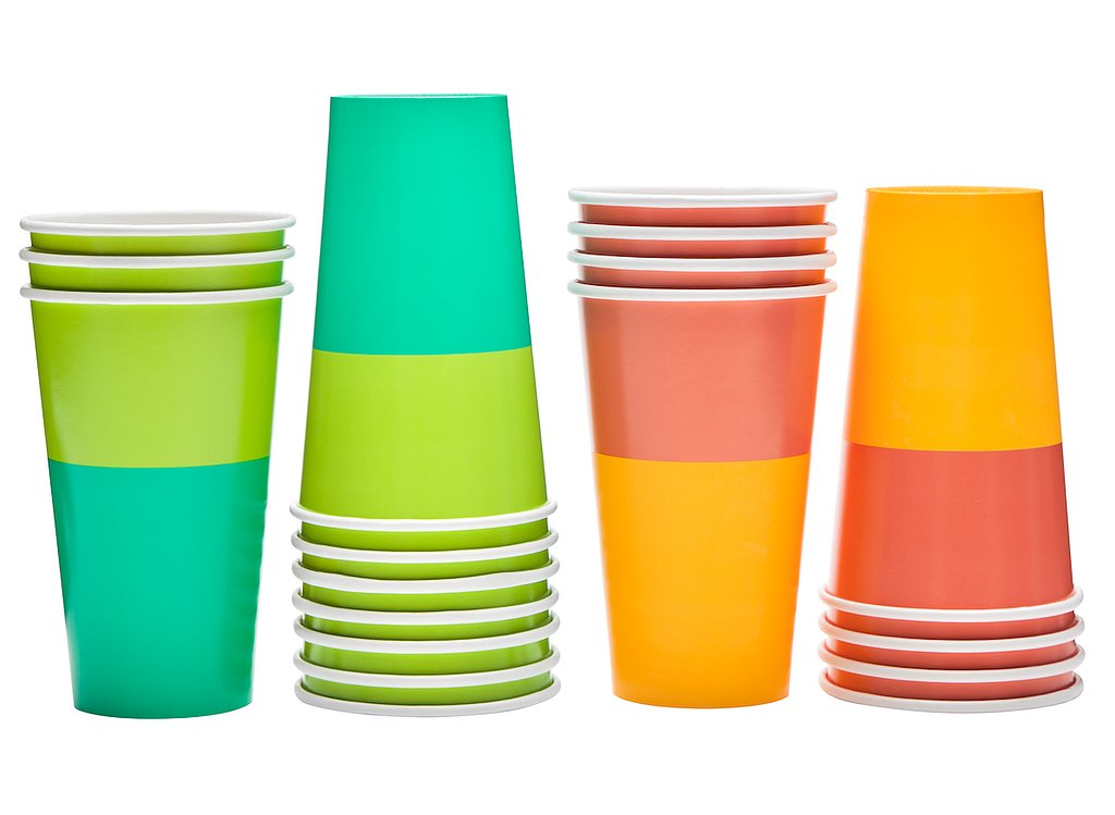 Printed Paper Cups ($3 for 10)