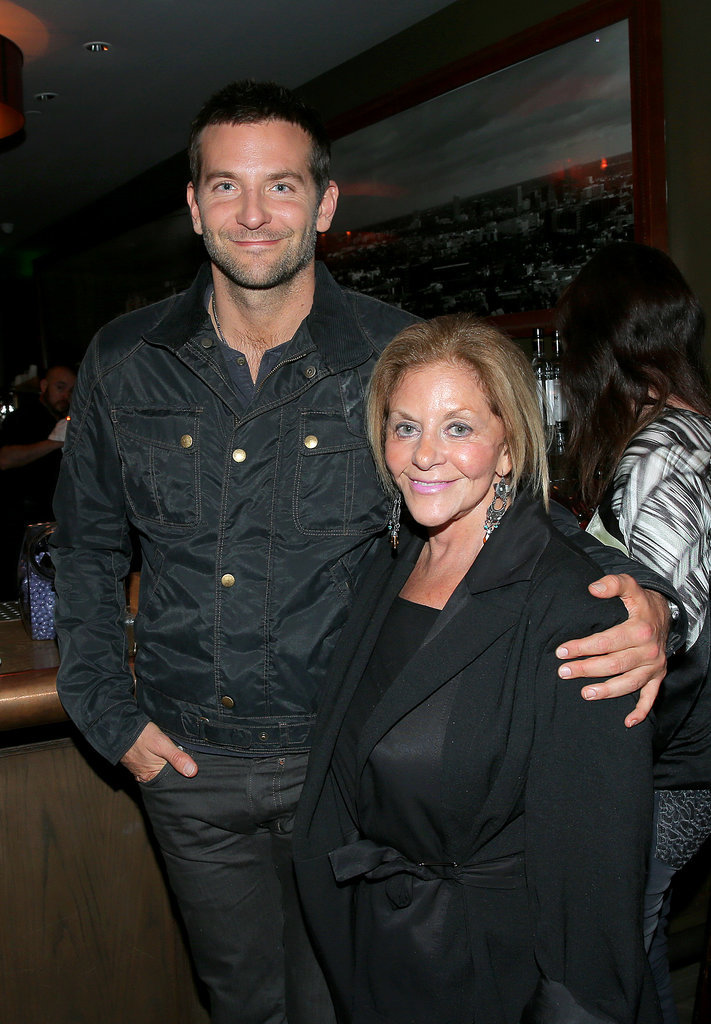 Bradley Cooper and Gloria Campano