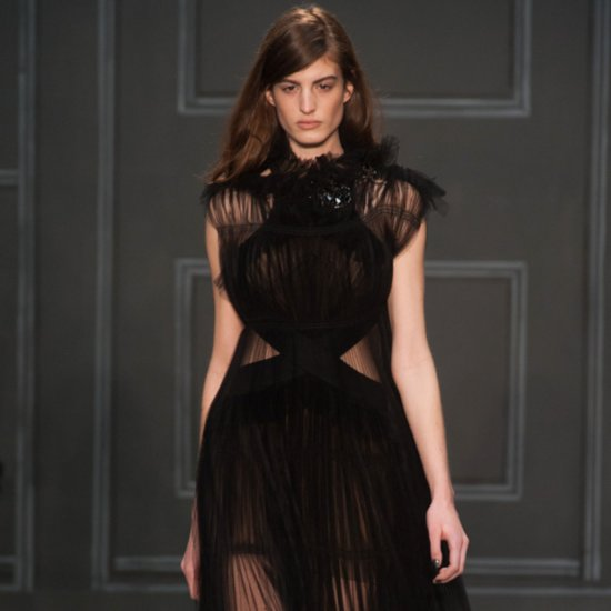 Vera Wang New York Fashion Week Fall 2014