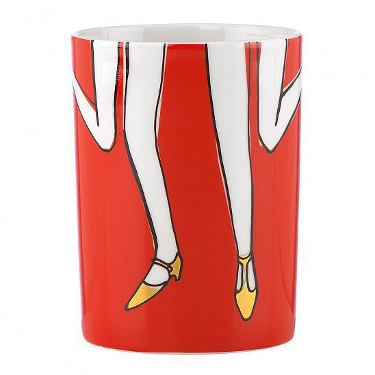 The Kate Spade Cha Cha Cha mug ($20) will make you want to put on your best ensemble and hit the town ASAP.