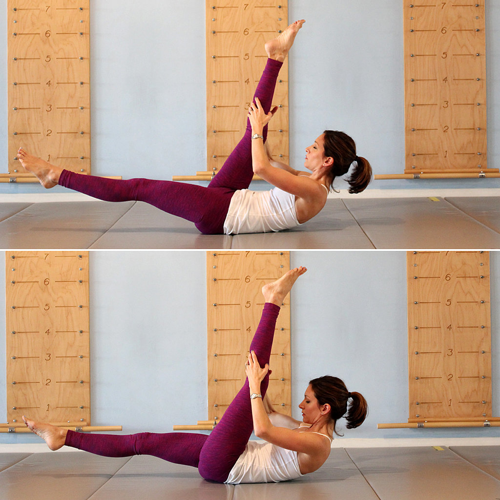 Single Straight-Leg Stretch
