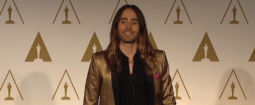 "Jared Leto's Rags-to-Riches Story: ""We Were Born Very Poor"""