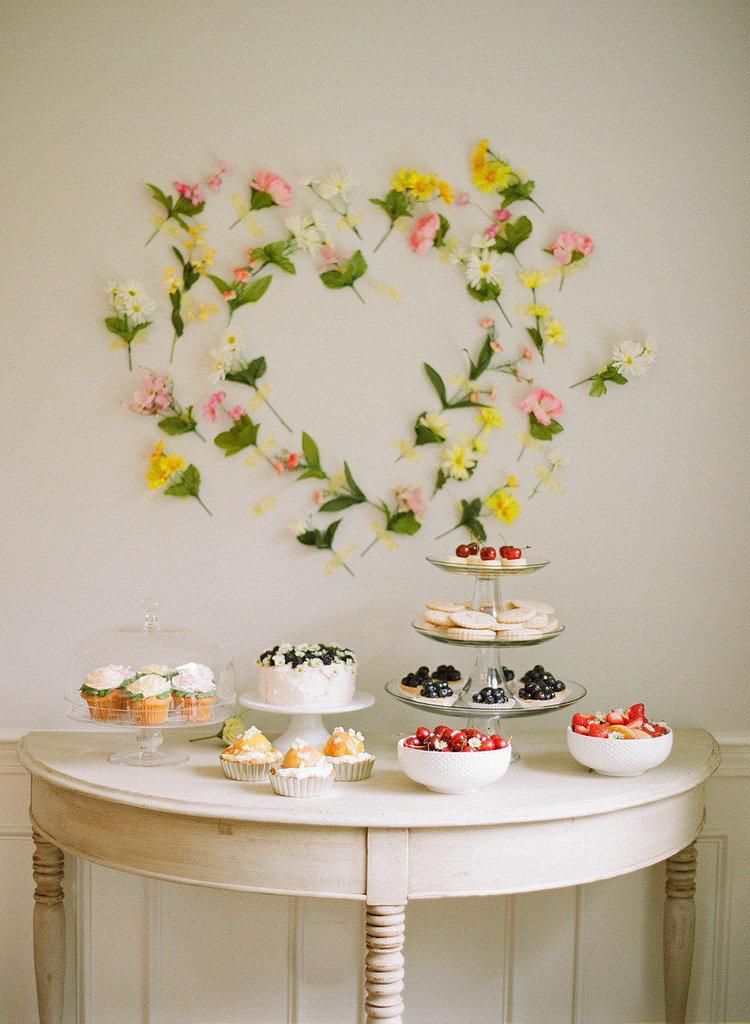 Floral Dessert Design