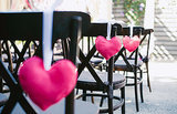 Ceremony Chair Hearts