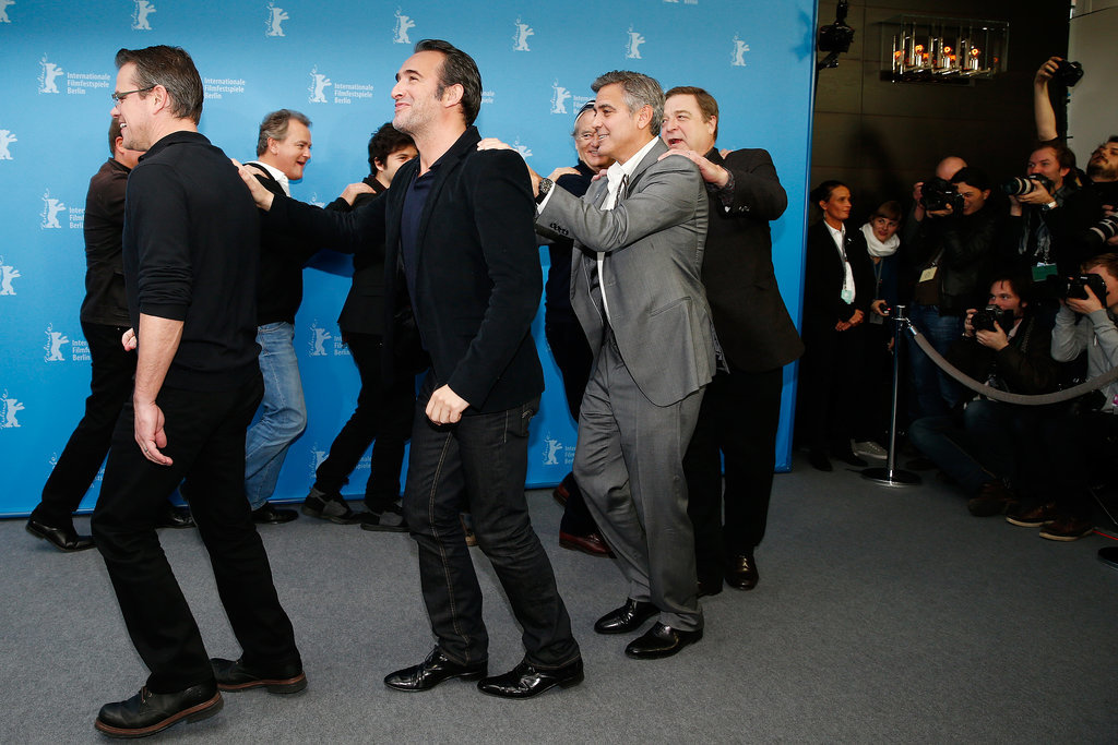 They conga-lined all the way to their press conference.