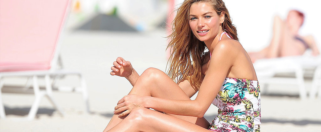 Jessica Hart Says She Feels Awkward in Lingerie