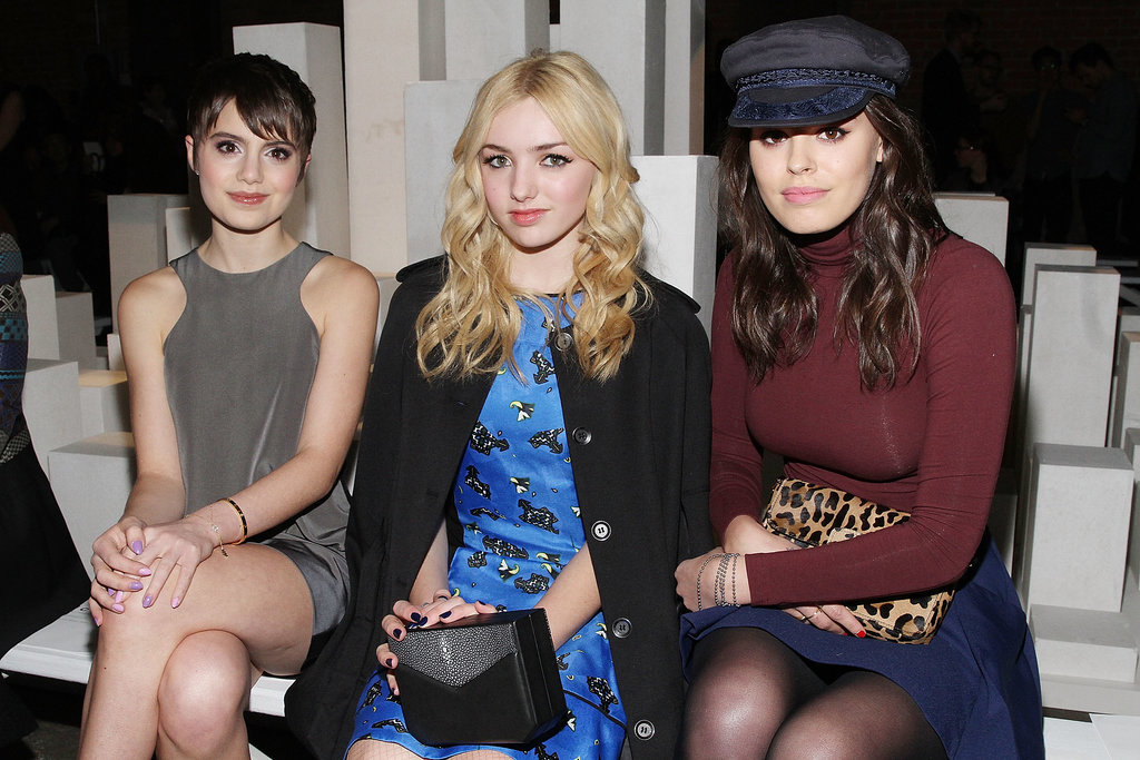 Sami Gayle, Peyton List, and Atlanta de Cadenet