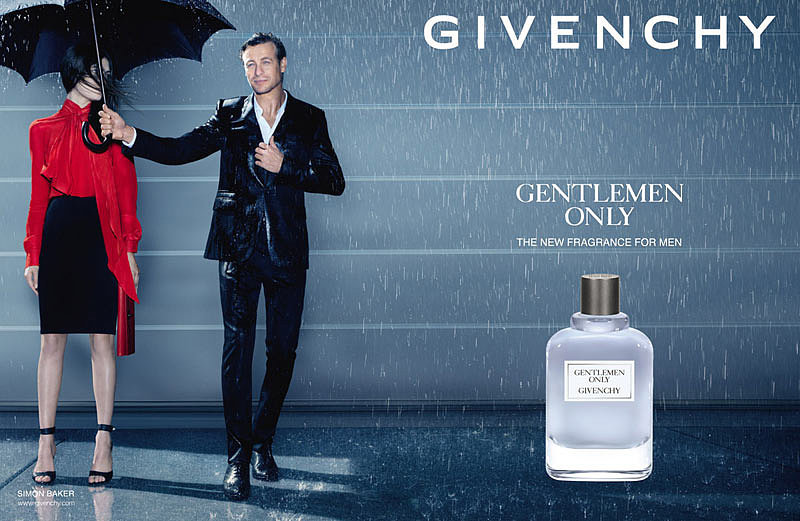 Simon Baker For Givenchy