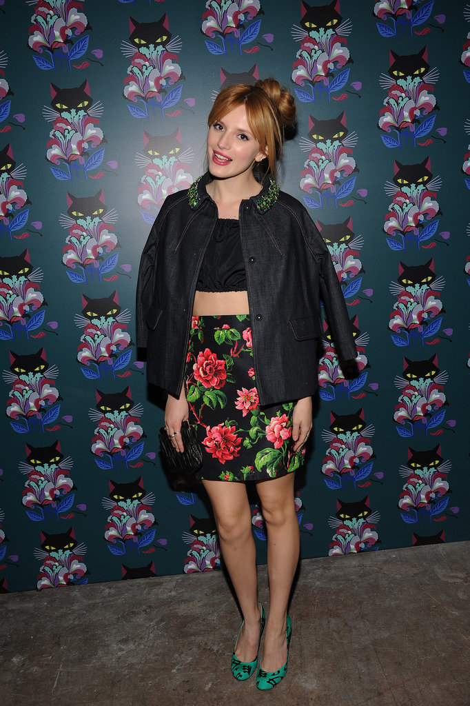 Bella Thorne in Miu Miu
