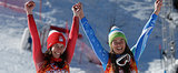 2 Olympic Skiers Tied For Gold, and It Was the Cutest