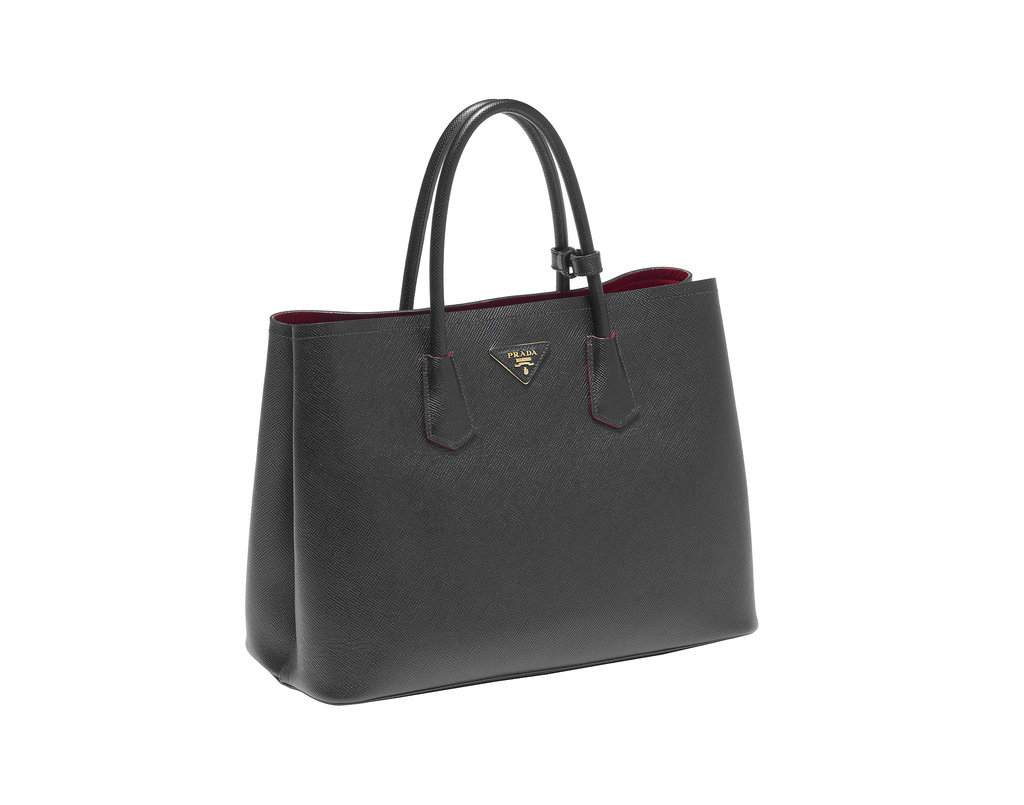 Prada Double Bag in Nero