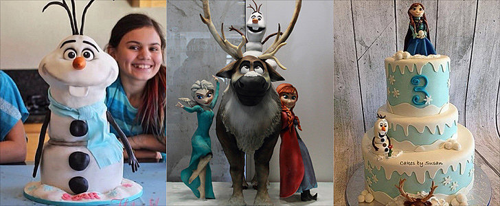 Let It Bake! 15 Droolworthy Cakes Inspired by Disney's Frozen