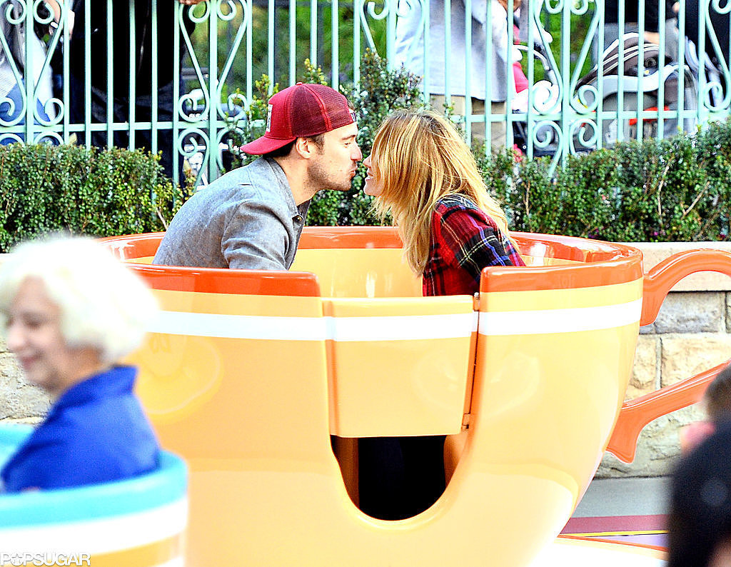 Lauren Conrad and William Tell Take Their Love to the Teacups