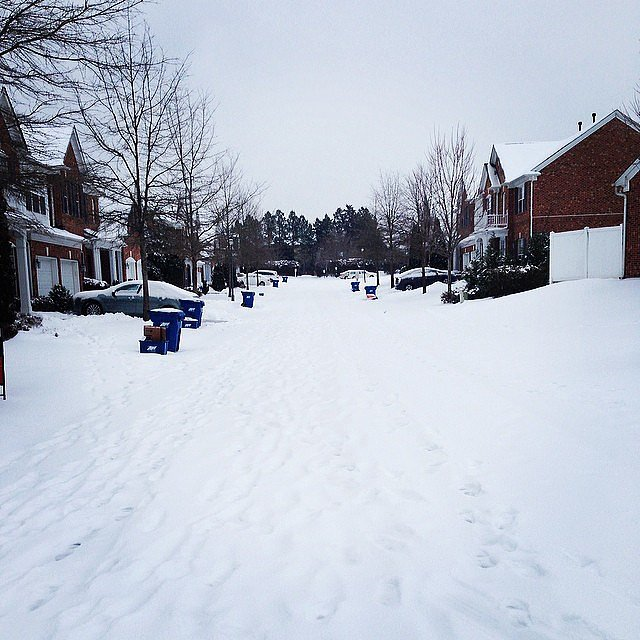 And neighborhoods went unplowed.