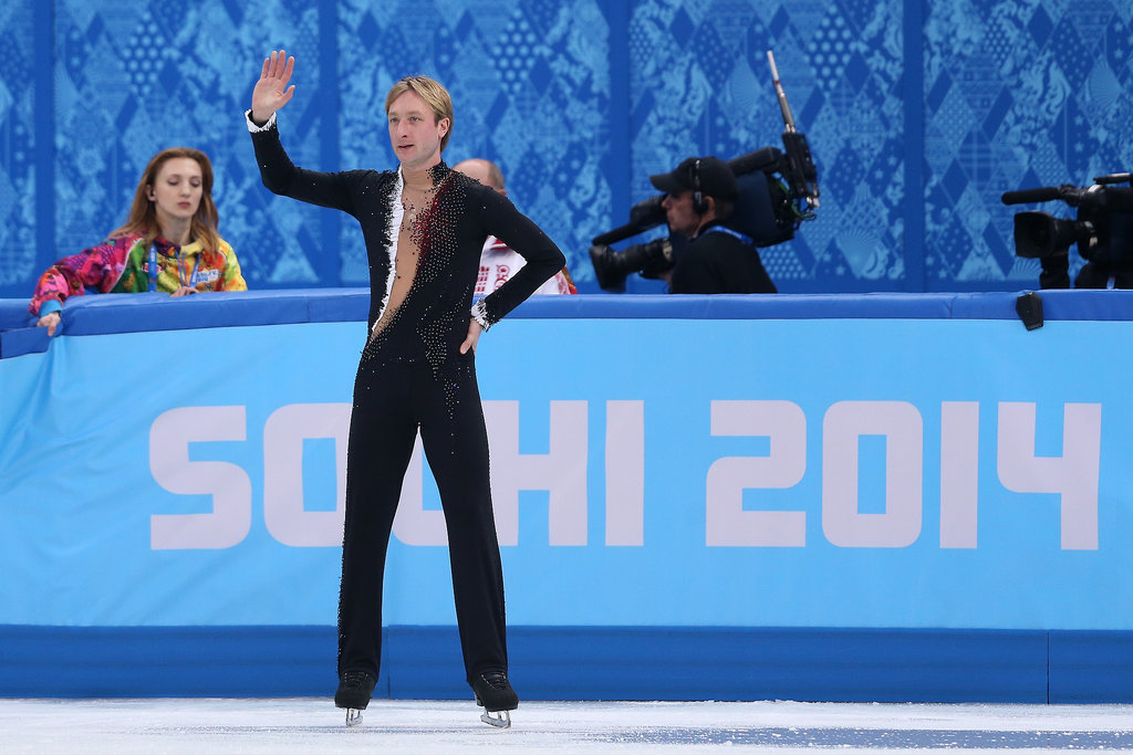 Evgeni Plushenko Just Retired From Figure Skating Mid-Olympics