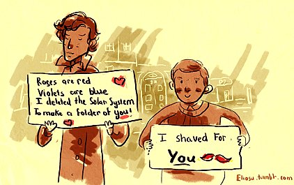 Reichenbach Fall For These Sherlock Valentines