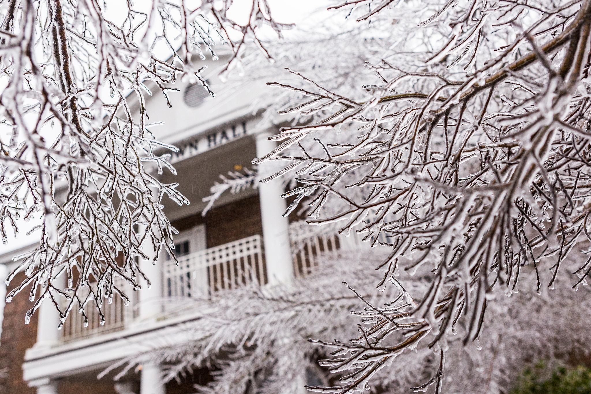 Ice Storm South Carolina