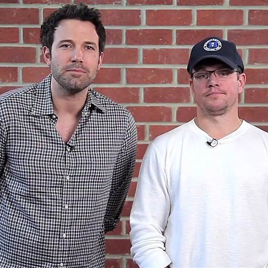 Matt Damon and Ben Affleck Make a Funny Charity Video