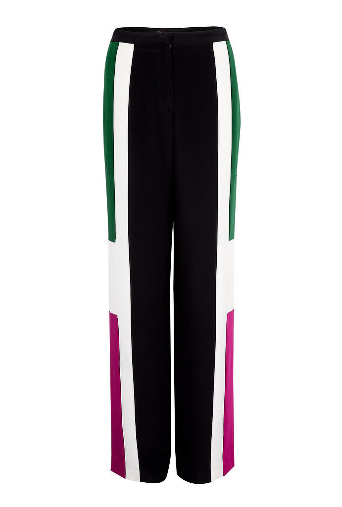 Elizabeth and James Landon Colorblock Wide-Leg Trousers