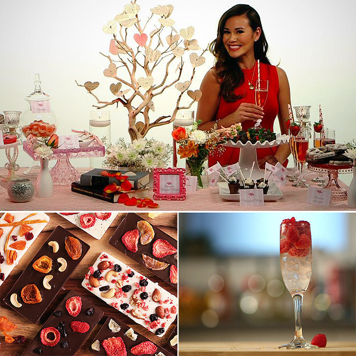 Valentine's Day Drinks, Decor, Dessert, and More!