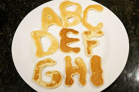 P Is For Pancakes