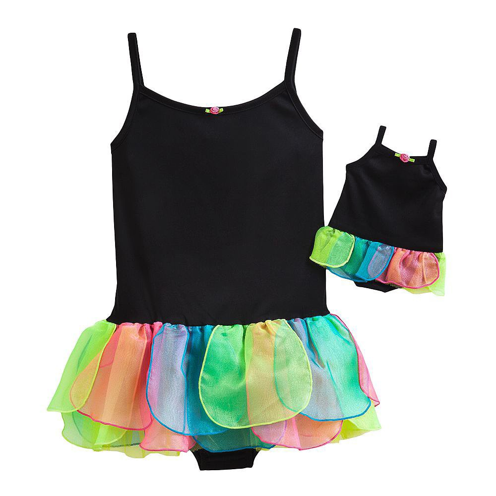 Petal Skirt Dance Leotard