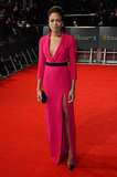 Naomie Harris on the 2014 BAFTA Red Carpet
