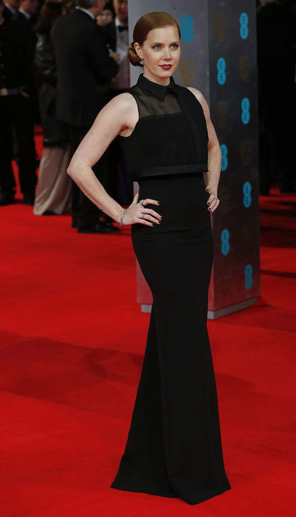 Amy Adams at the 2014 BAFTA Awards.