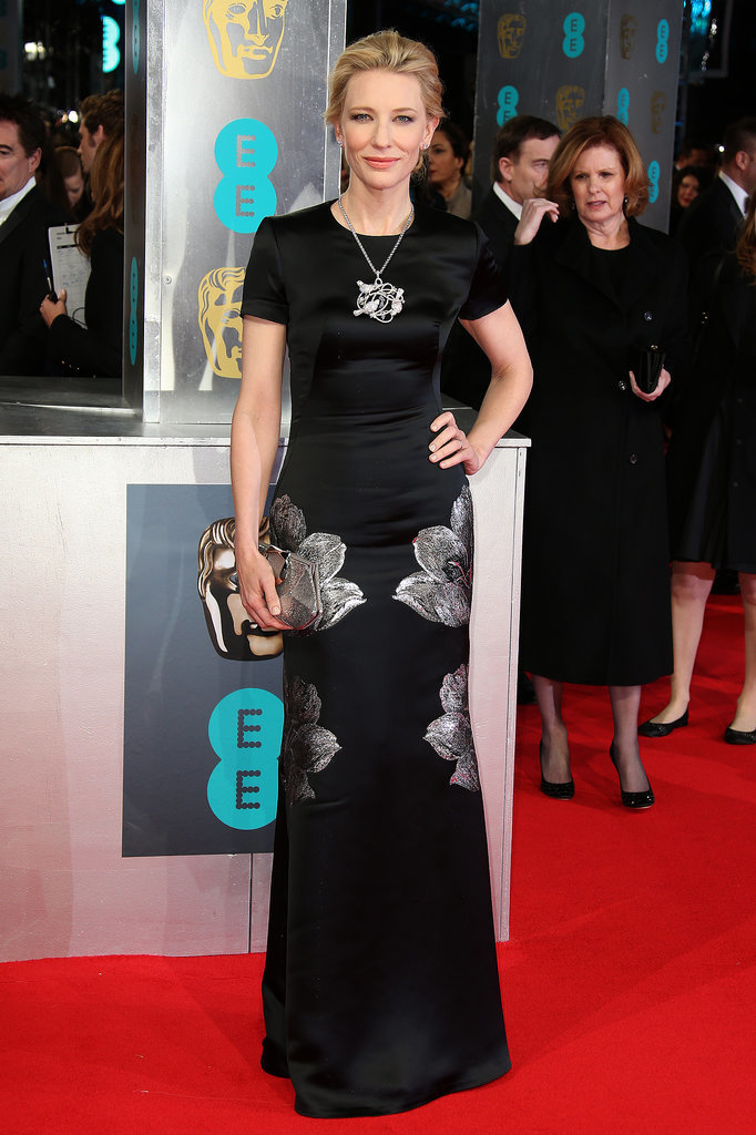 Cate Blanchett at the 2014 BAFTA Awards.