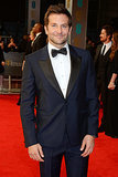 Bradley Cooper at the 2014 BAFTA Awards.