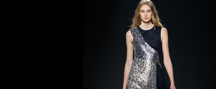 Mary Katrantzou's Vibrant Prints Go 3D For Fall 2014