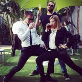 If this isn't the most fun cast, I don't know who is. Source: Instagram user theveronicamarsmovie