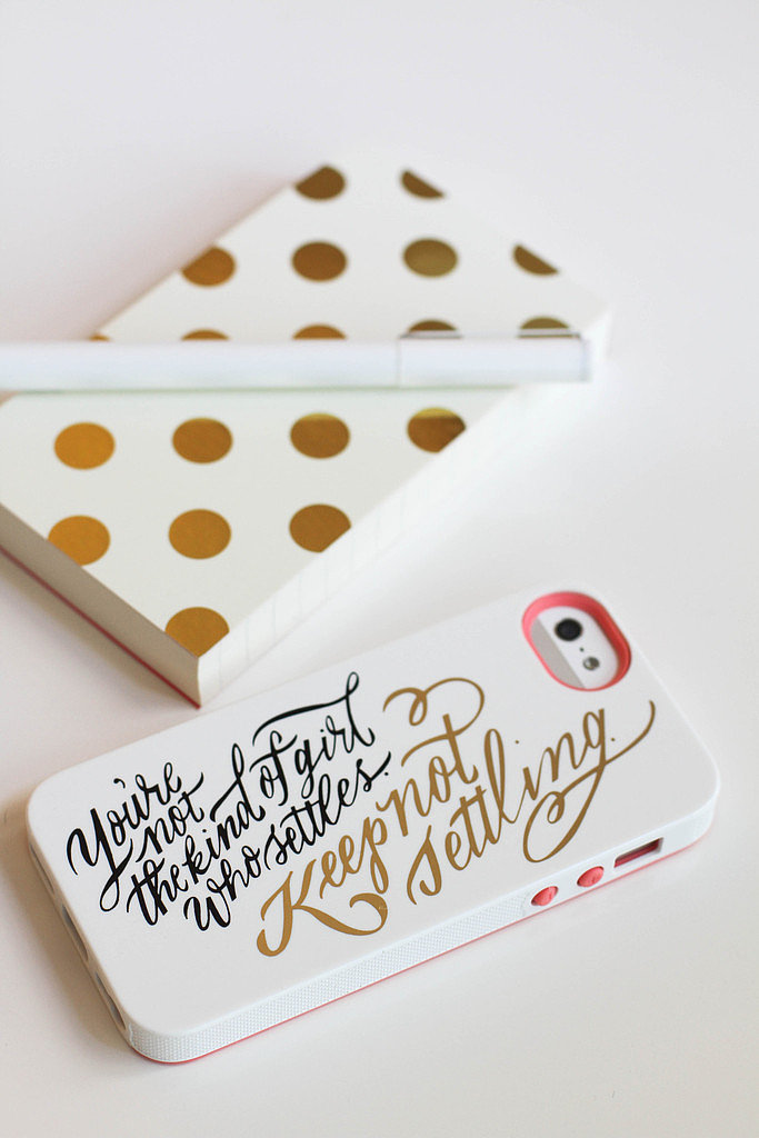 Keep Not Settling iPhone 5/5S Case ($34)