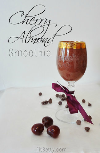Cherry Almond Smoothie - Fit Betty